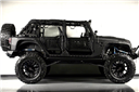 Jeep Wrangler Sahara Custom Rental Miami